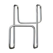 不锈钢可安装在门上的挂钩 约宽3.5×长6×高6cm耐负重1kg / 银色