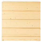 松木宽型柜子/4层 83×40×83cm