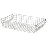 18-8不锈钢 钢丝篮2 / 约宽37×长26×高8cm