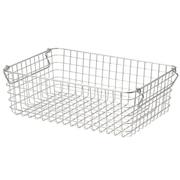 18-8不锈钢 钢丝篮3 / 约宽37×长26×高12cm
