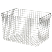 18-8不锈钢 钢丝篮5 / 约宽37×长26×高24cm