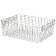 18-8不锈钢 钢丝篮6 / 约宽51×长37×高18cm
