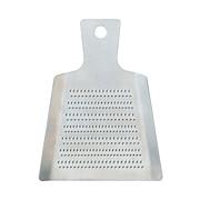 不锈钢迷你擦菜板 约宽8.5×长11×高0.5cm / 银色