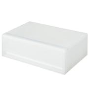 PP抽屉式储物盒/横宽/浅型