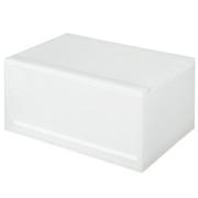 PP抽屉式储物盒 横宽 深型 37×26×17.5cm