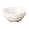 米色瓷罗叠盆 小 约直径9×高4cm / 本白色