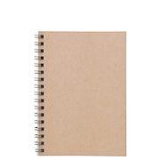 植林木不易透页双环笔记本  A6 48枚 6mm横格 页