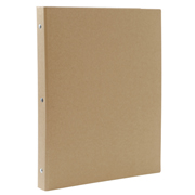 再生纸活页夹 A4 30孔 / 米色