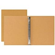 再生纸活页夹 / 米色 / A5 / 20孔