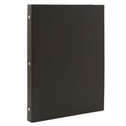 再生纸活页夹 A4 30孔 / 深灰色