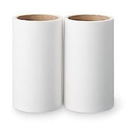 衣物类用清洁纸・更换用清洁纸 宽8cm 40卷 2个组
