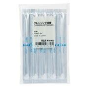 卸妆棉棒(附卸妆液) 10个 10个(保质期三年) / 银色X白色