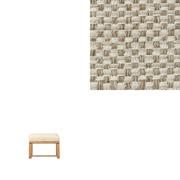 棉聚酯纤维编织客厅餐厅两用长凳2用外罩