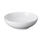 白瓷多用盆 白色Φ20×6.3cm