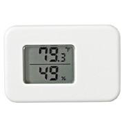 标签工具 温湿度计  / 白色