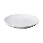 白瓷盘  约直径26×高3.5cm / 白色