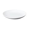 白瓷盘  约直径22×高3.2cm / 白色