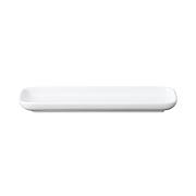 白瓷长型方盘 白色22.4×6.7cm / 白色