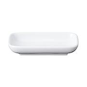 白瓷长型方盘 11×6.5cm / 白色
