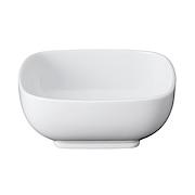 白瓷方钵 14.5×14.5×高5.9cm / 白色