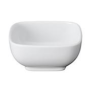 白瓷方钵 8×8×高3.7cm / 白色