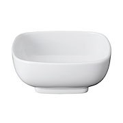 白瓷方钵 11.5×11.5×高4.8cm / 白色