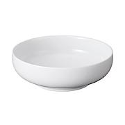 白瓷浅盆 直径15.6×高5cm / 白色