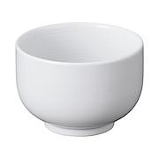 白瓷煎茶碗 可用于洗碗机  微波炉 约直径8×高5.5cm / 白色