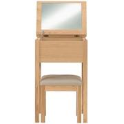 白橡木梳妆柜 / 凳子 / 宽46×深36.5×高72