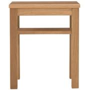 边桌台 / 板座 / 白橡木 / 长37×宽37×高44cm