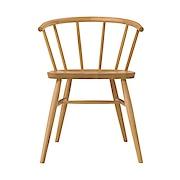 白橡木扶手椅 / 圆脚 / 长55.5×宽50.5×高73cm