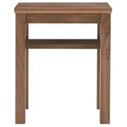 边桌台 / 板座 / 胡桃木 / 长37×宽37×高44cm