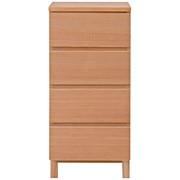 白橡木收纳柜 / 4层 / 宽40×深40×高83cm
