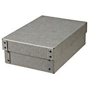 硬质纸盒 附盖 浅半型 约长18×宽25.5×高8cm