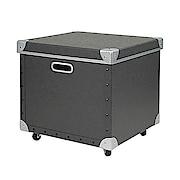 硬质纸盒 附盖 黑38×36×36cm