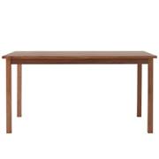 胡桃木餐桌 / 宽140×深80×高72cm