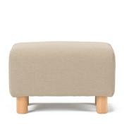 棉平织沙发主体搁脚凳用沙发套/米色