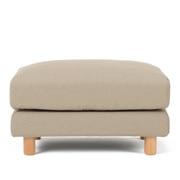 棉平织沙发主体搁脚凳大用沙发套/米色