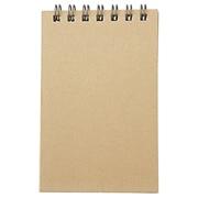 再生纸双环笔记本 A7 40页 / 米色