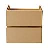 硬纸板柜抽屉/2层/硬纸板柜用 宽34*深27*高34cm