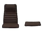 休闲椅 / 搁脚凳坐垫 / 聚酯纤维平织 / 棕色