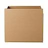 瓦楞纸箱子/引出 34*27*34cm
