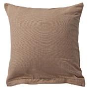 印度棉手织靠垫套 43×43cm用 / 米色