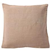 印度棉手织座垫套 55×59cm用 / 米色