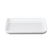 白瓷正方形盘 大 18×18cm / 白色