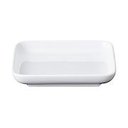 白瓷正方形盘 / 小 / 白色12×12CM