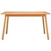 橡木材餐桌 / 135×85×72cm