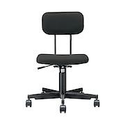 工作椅 宽55.5×长53×高74-84cm / 黑色