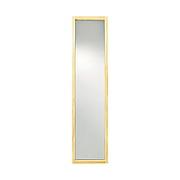 松木框镜子