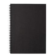 再生纸双环笔记本 B5 80页 / 深灰色